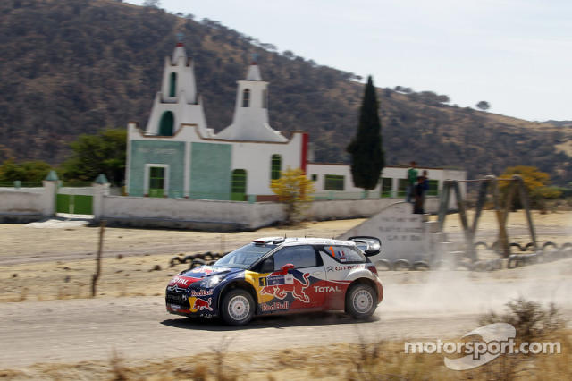 "Sébastien Loeb y Daniel Elena, Citroën DS3 WRC, Citroën Total World Rally Team <span class=""copyright"">Citroën Communication</span>"