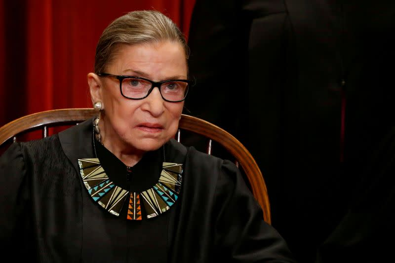 U.S. Supreme Court's Ginsburg, a liberal dynamo, championed women's rights