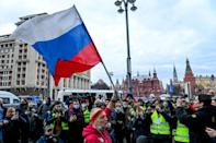 Navalny emerged as a top leader of Russia's opposition movement a decade ago, leading huge anti-Kremlin rallies