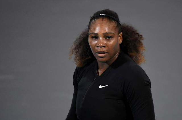 "<a class=""link rapid-noclick-resp"" href=""/olympics/rio-2016/a/1132744/"" data-ylk=""slk:Serena Williams"">Serena Williams</a> returned to the tennis court at the Mubadala World Tennis Championship in Abu Dhabi in late December. (Getty)"