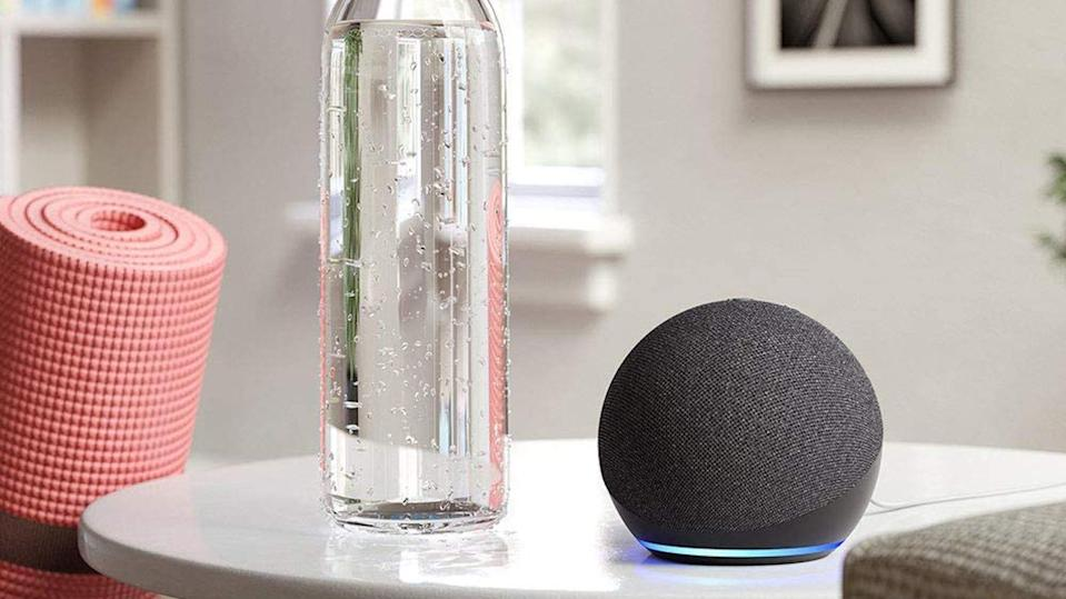 Score two Amazon Echo Dot speakers for the price of one.