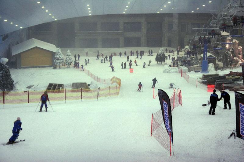 Dubai39s Current Indoor Ski Resort Opened In 2005 The Mall