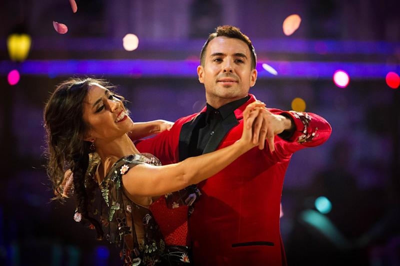 Janette Manrara and Will Bayley dancing on Strictly (BBC/Guy Levy)