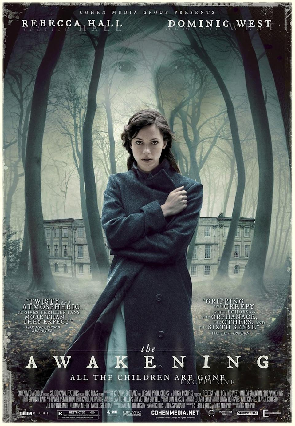 """<p>This supernatural drama is everything one would want from a spooky movie. Based in the 1920s, we follow Florence, who works on exposing frauds in the supernatural world. However, she finds herself in an actual ghost story at a boarding school and she has to figure out what happened. While it can be slow at times, the payoff is worth it.</p> <p><a href=""""https://www.amazon.com/gp/video/detail/amzn1.dv.gti.08b30b72-9481-a918-2a06-d2d20e027c4e?autoplay=1&amp;ref_=atv_cf_strg_wb"""" class=""""link rapid-noclick-resp"""" rel=""""nofollow noopener"""" target=""""_blank"""" data-ylk=""""slk:Watch The Awakening on Amazon Prime"""">Watch <strong>The Awakening</strong> on Amazon Prime</a>.</p>"""