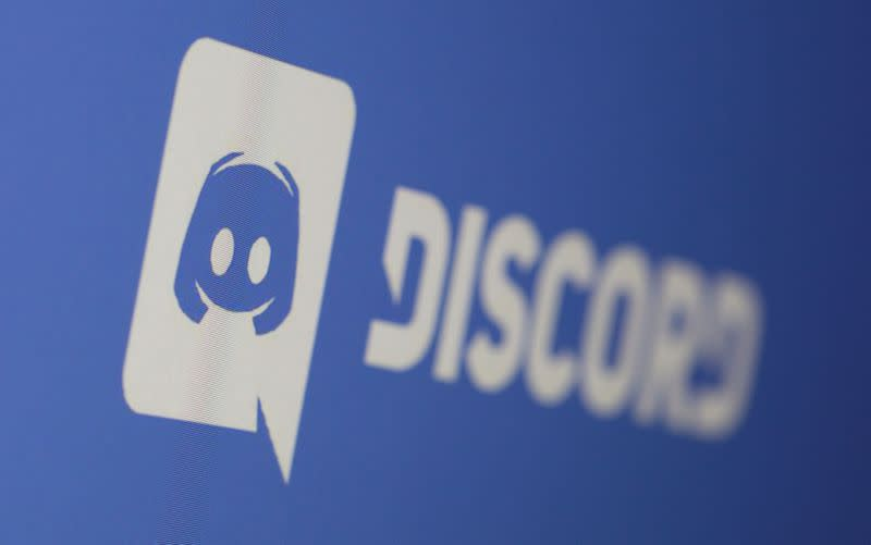 Discord app logo is seen displayed in this illustration taken photo