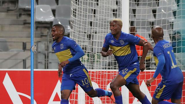 Judas Moseamedi scored the winner for Cape Town City to earn them a 3-2 win over Kaizer Chiefs at the Cape Town Stadium