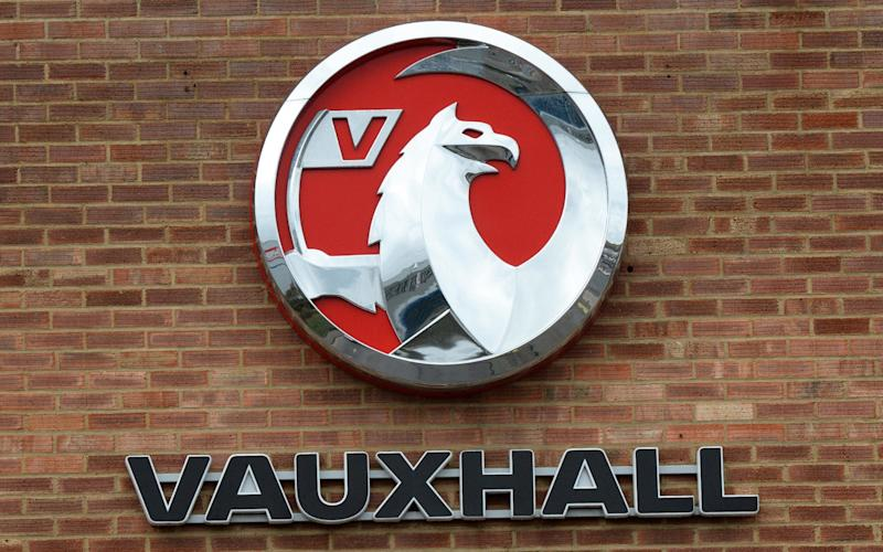 Vauxhall badge  - Tony Margiocchi / Barcroft Media