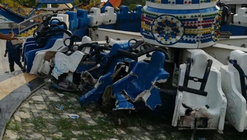 Kankaria Adventure Park Ride Accident: 'Discovery Joyride' Breaks Down in Ahmedabad's Balvatika Amusement Park, Two Killed, 29 Wounded