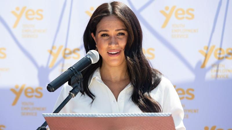 Meghan Markle opens up about fears and insecurities at bakery visit
