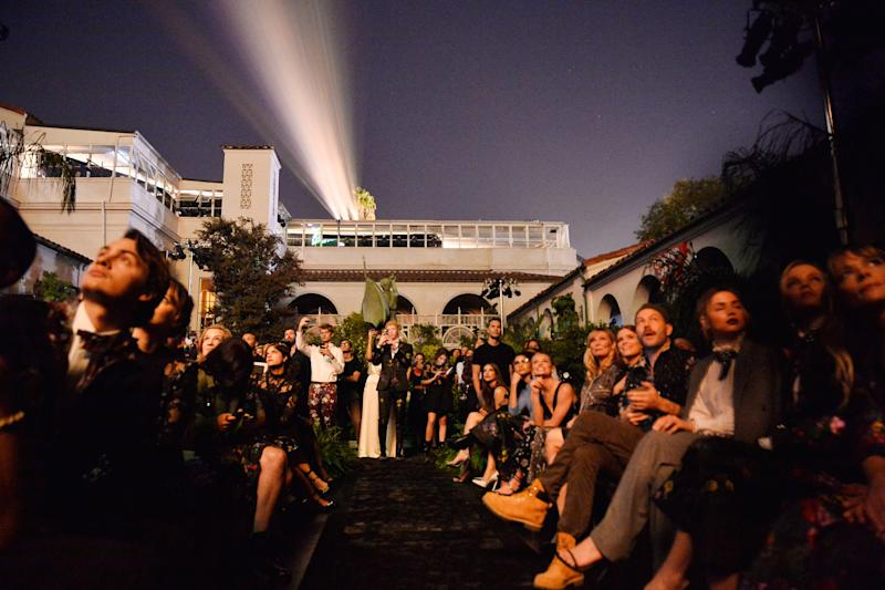 The Ebell Los Angeles, venue for the Erdem x H&M launch event and runway show. (Photo: Getty)