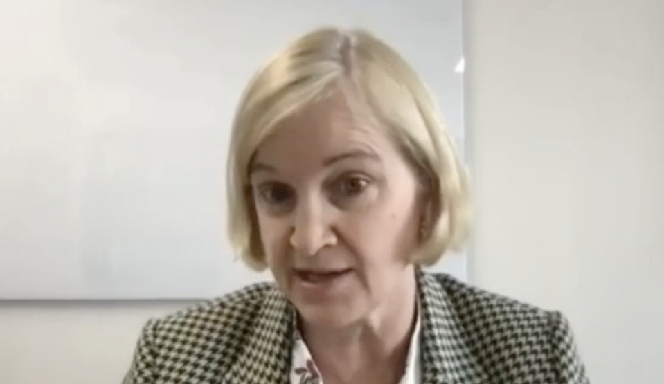 Amanda Spielman told MPs most schoolgirls 'laugh off' nude pictures from boys. (Parliamentlive.tv)