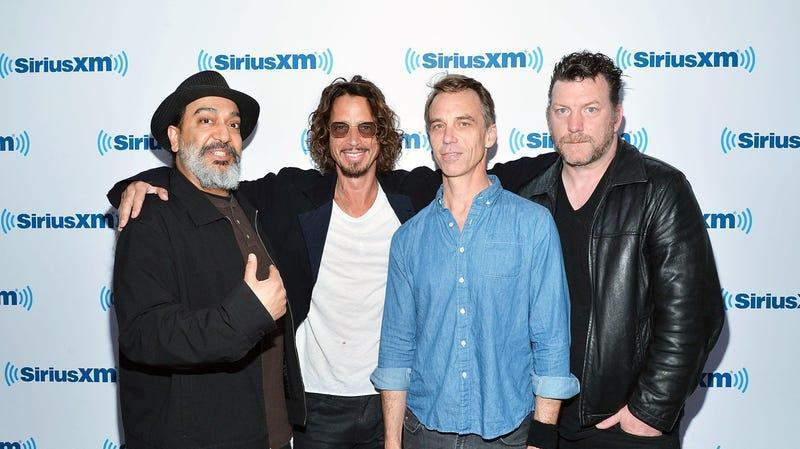 The members of Soundgarden, including Chris Cornell (second from left), photographed in 2014.