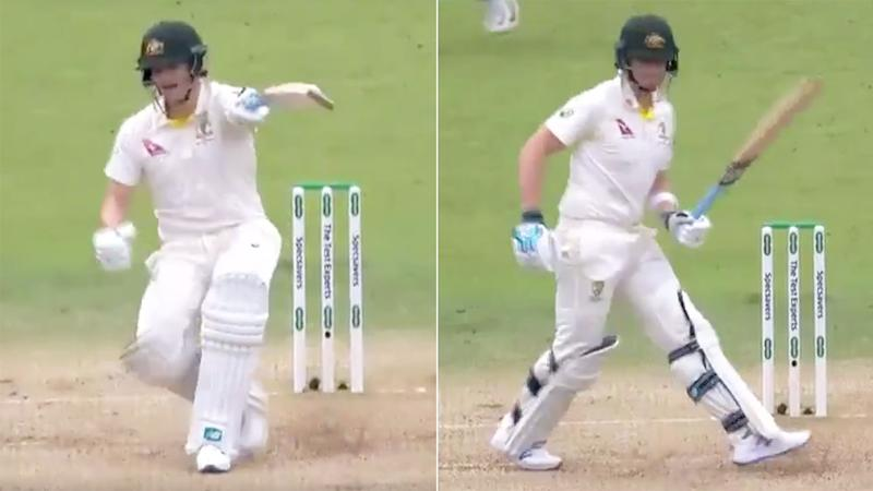 Steve Smith's antics at the crease have been the talk of the cricket world.