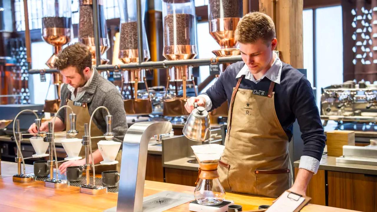 A Fancy Starbucks Reserve Coffee Bar Is Brewing in Uptown Dallas