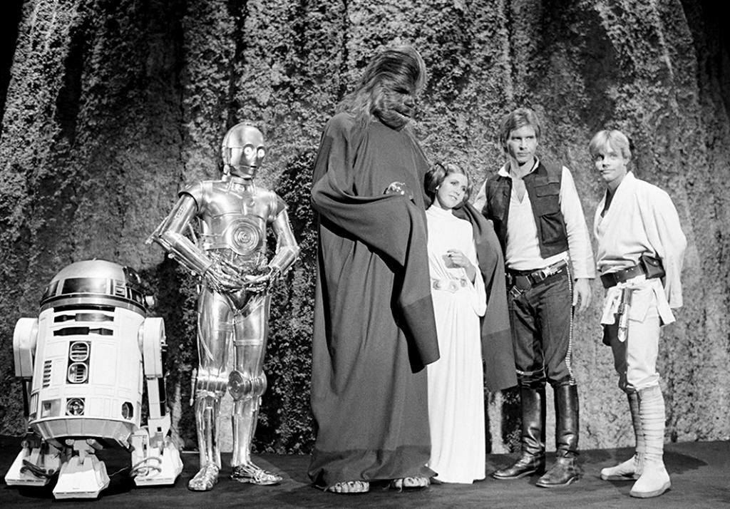 "<p>Of this legendary (in some circles) TV tie-in to the first 'Star Wars,' Fisher told Yahoo Movies, ""It was awful. No, I mean, it's not awful in a good way."" But she then belted out Princess Leia's song, which she still remembered almost 40 years later… (Photo: Lucasfilm) </p>"