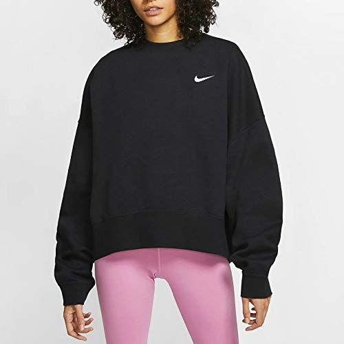 """<p><strong>Nike</strong></p><p>amazon.com</p><p><strong>$90.76</strong></p><p><a href=""""https://www.amazon.com/dp/B084QDFWXJ?tag=syn-yahoo-20&ascsubtag=%5Bartid%7C2140.g.37511825%5Bsrc%7Cyahoo-us"""" rel=""""nofollow noopener"""" target=""""_blank"""" data-ylk=""""slk:Shop Now"""" class=""""link rapid-noclick-resp"""">Shop Now</a></p><p>Perfect for those late night runs (or, for amping up the sweat on your next treadmill incline sesh), Nike's classic crewneck is a seriously heavyweight fleece. It has a roomy waist, but cinches at the hem for maximum comfort while working out.</p>"""