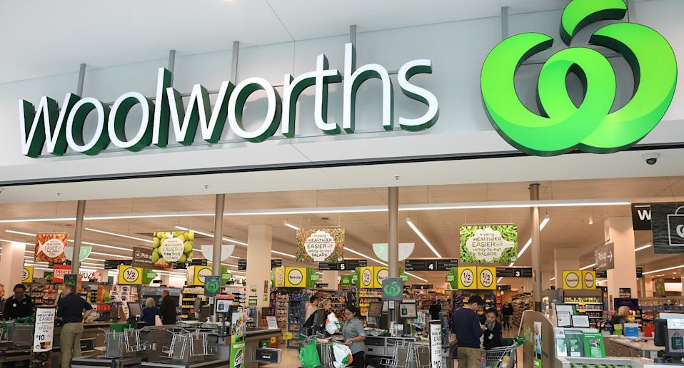 Woolworths store shown as secret section revealed.