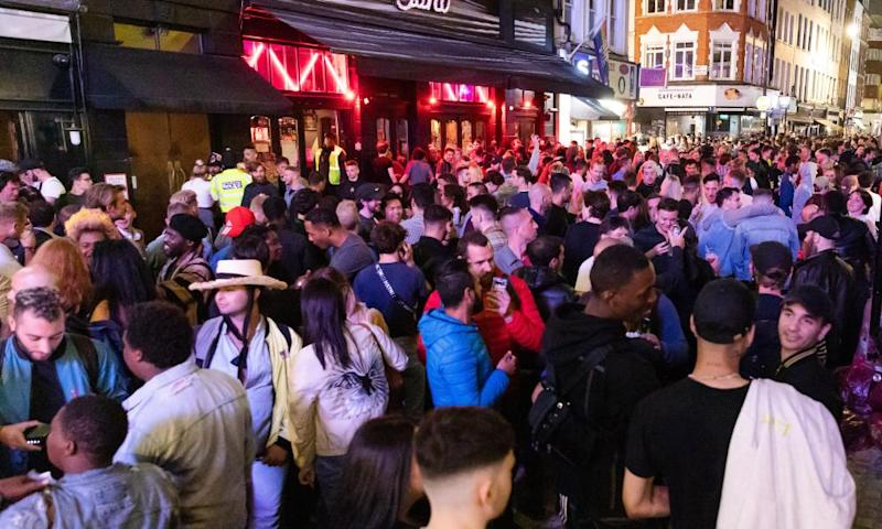 Pubs, restaurants, places of worship, hairdressers and other businesses have reopened their doors across England after more than three months of lockdown.