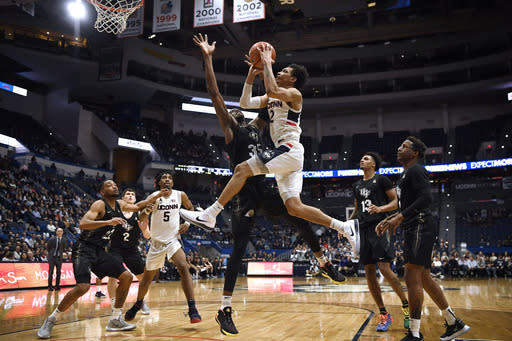 UConn won't play games in Hartford this academic year