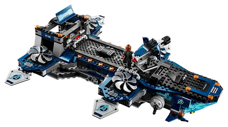 Lego Marvel Avengers Helicarrier (Photo: Disney Parks, Experiences & Products)