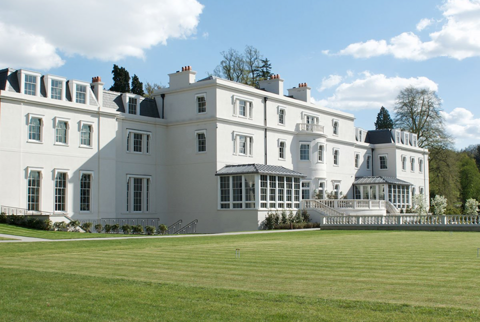 Coworth Park is a five-star country hotel located in Ascot. [Photo: Coworth Park]