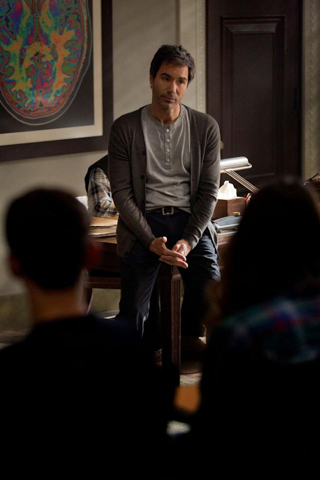 "Eric McCormack in the ""Perception"" episode, ""Alienation."""