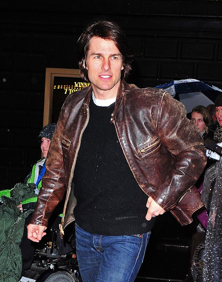 "Tom Cruise is trying to ""squash"" an upcoming movie about Scientology, says <i>Life & Style</i>. According to the magazine, Cruise is trying to foil production of the film ""The Master"" because it ""centers around a religion that has similarities to Scientology."" The reason Cruise want to kill the movie, explains <i>Life & Style</i>, is so it doesn't reveal Scientology's ""secrets."" For the behind-the-scenes steps Cruise is taking to make sure the film is never made, click over to <a href=""http://www.gossipcop.com/tom-cruise-the-master-scientology-movie/"" target=""new"">Gossip Cop</a>. James Devaney/<a href=""http://www.wireimage.com"" target=""new"">WireImage.com</a> - April 12, 2011"