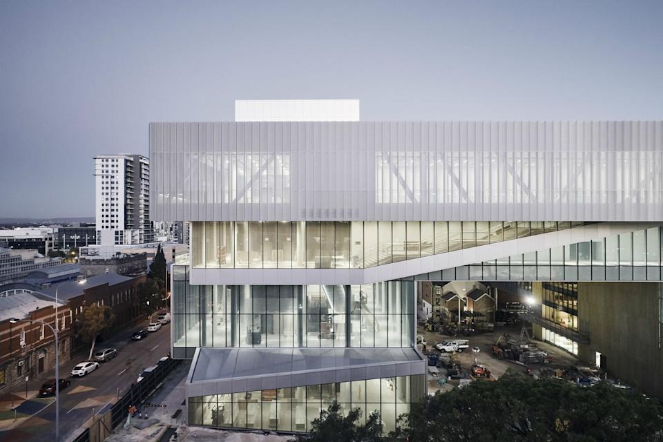 Photo credit: © Peter Bennetts, courtesy of Hassell + OMA