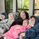 <p>If they are all about the cozy vibes and enjoying a movie night rather than going out on a Saturday night, they'll absolutely obsess over the <span>The Comfy Original Wearable Blanket</span> ($40).</p>