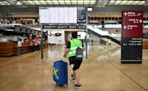 The airport has been granted millions in state aid to help safeguard jobs until year end -- but opening in the middle of a global pandemic threatens to be a challenge