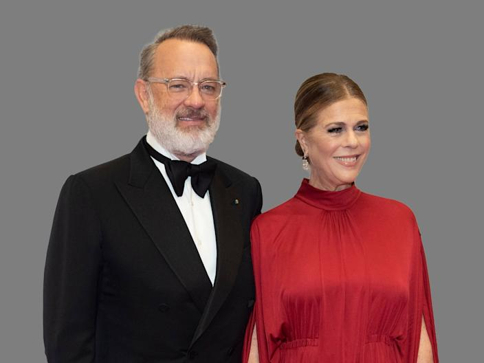 The multiple Oscar-winning actor Tom Hanks and his wife and actress Rita Wilson have both tested positive.