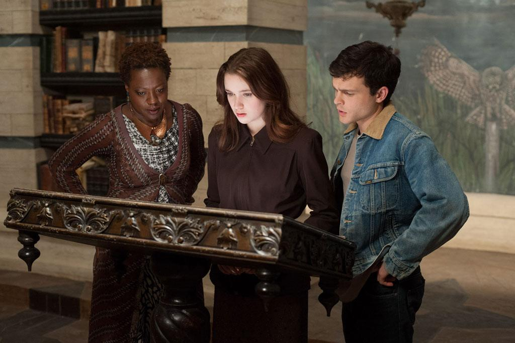 "Viola Davis, Alice Englert and Alden Ehrenreich in Warner Bros. Pictures' ""Beautiful Creatures"" - 2013"