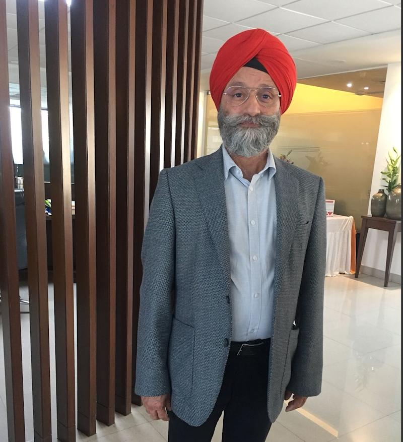Gurdeep Singh Randhawa is part of Angela Merkel's ruling party CDU in Germany. He is also a part of the Indian 'jatha' to Kartarpur. (Photo: Smita Sharma)