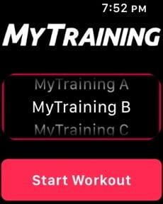 best fitness apps apple watch mytraining workout1