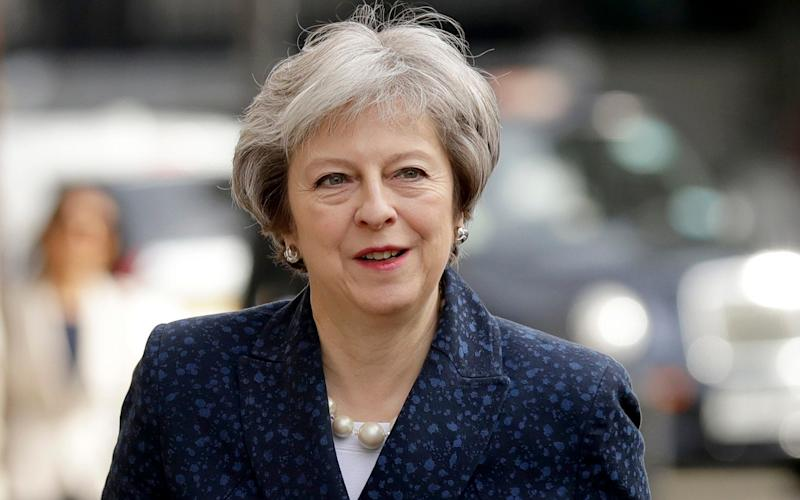 Theresa May, the Prime Minister - AP