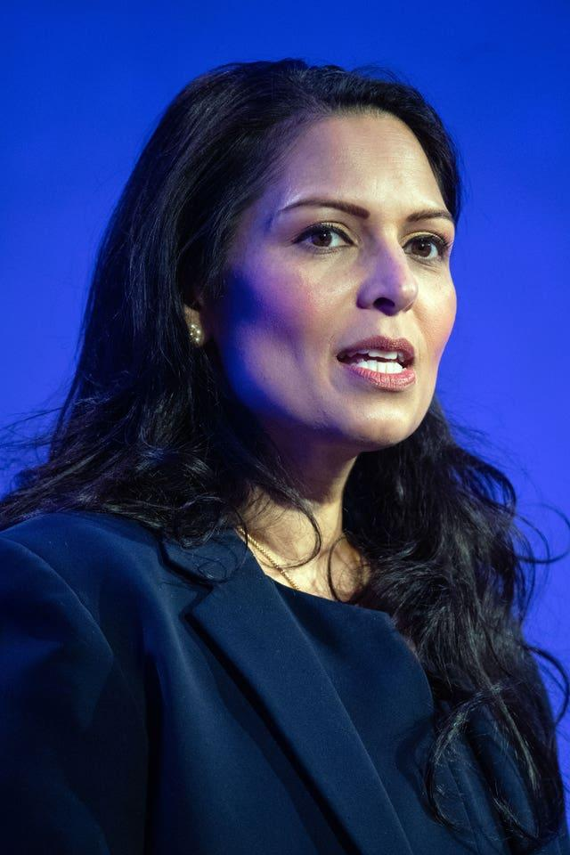 Home Secretary Priti Patel is facing questions over the delay in publishing the report.
