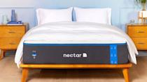The Nectar Mattress is great for side sleeping because its soft and cushions pressure points.