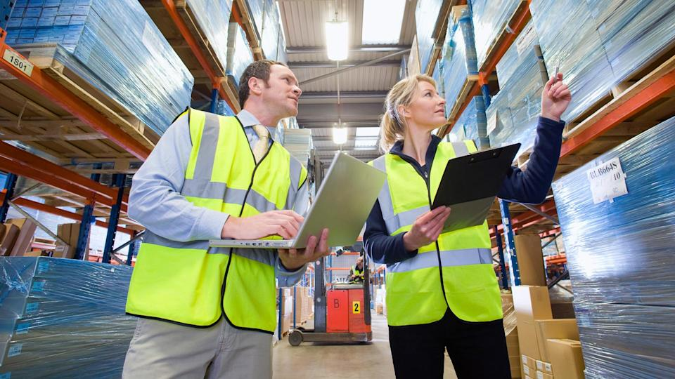"""<p><strong>Median salary:</strong> $<span>74,590</span></p> <p>Supply-chain management, which entails the oversight of bringing products or services to a customer, can offer work-life flexibility. Evans Distribution Systems, a supply chain company in Michigan, states that """"high pay, purposeful work, and mobility"""" as being major perks of this career path.</p> <p>According to the Department of Labor, individuals typically enjoy normal business hours, although overtime might be required occasionally to meet demands.</p> <p>If you want a bit more control over your schedule, consider becoming a management analyst, which entails consulting businesses on ways to improve their efficiency. According to the Department of Labor, these professionals can decide when, where and how much they work.</p> <p><em><strong>Read more on: </strong></em><a href=""""https://www.gobankingrates.com/making-money/jobs/weirdest-ways-make-money/"""" rel=""""nofollow noopener"""" target=""""_blank"""" data-ylk=""""slk:28 Weirdest Ways to Make Money"""" class=""""link rapid-noclick-resp""""><em><strong>28 Weirdest Ways to Make Money</strong></em></a></p>"""