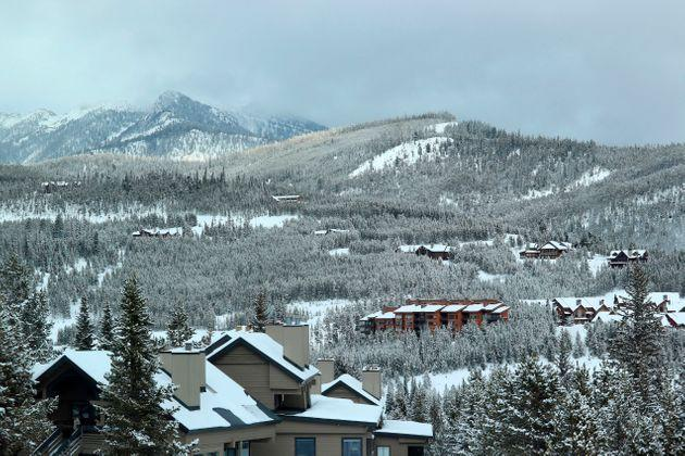 Condos and housing in the mountains around Big Sky Ski Resort. (Photo: Don & Melinda Crawford via Getty Images)