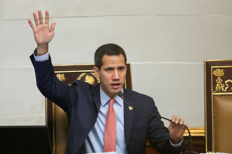 Venezuela opposition pushes to re-elect Guaido as congress chief
