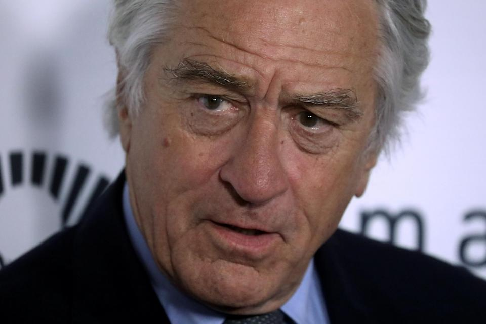 Robert De Niro dropped the F-bomb during his interview on CNN. (Photo: REUTERS/Carlo Allegri)