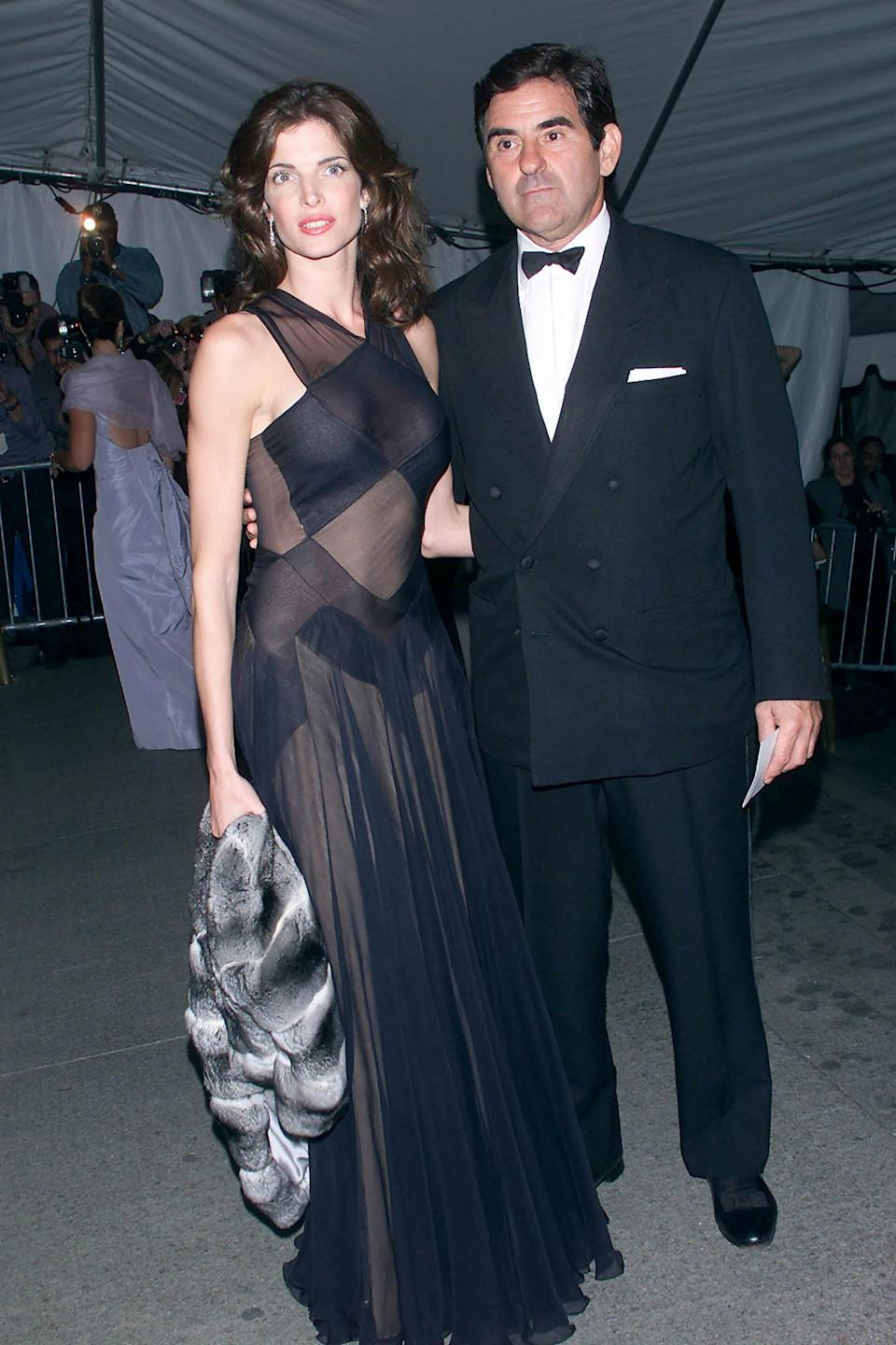 """<h1 class=""""title"""">Stephanie Seymour in Alaia, 2001</h1><cite class=""""credit"""">Photo: Getty Images</cite>"""