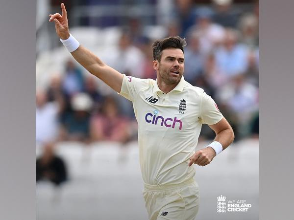 England pacer James Anderson (Photo/ England Cricket Twitter)