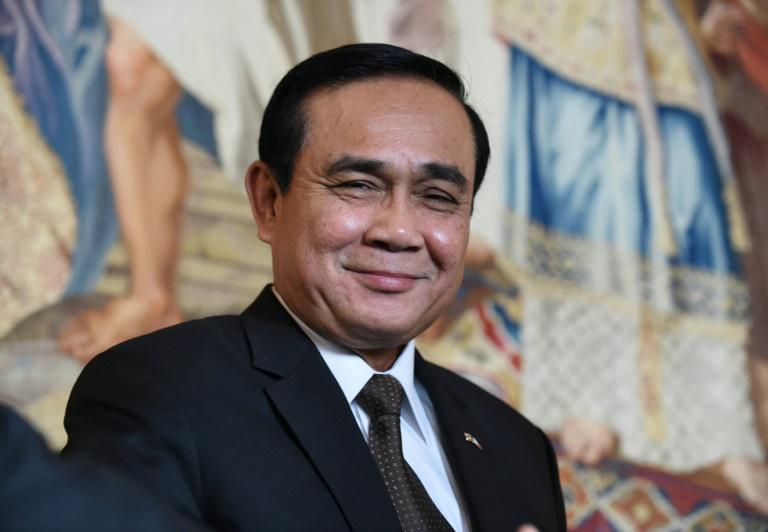 Prayut Chan-O-Cha defended his 2014 coup saying he wanted to end corruption in Thai politics