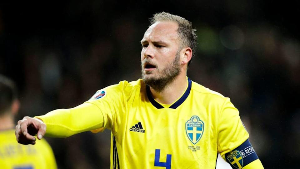 Andreas Granqvist | Soccrates Images/Getty Images