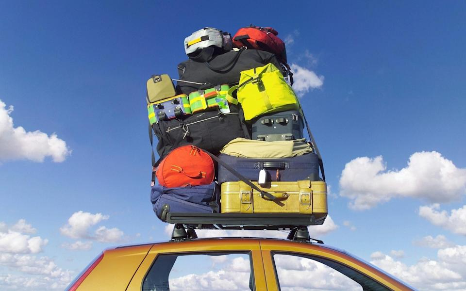 Exclude any excess weight, such as a roof rack or ski box, this will help to lighten the car and ultimately use less fuel - Getty Images