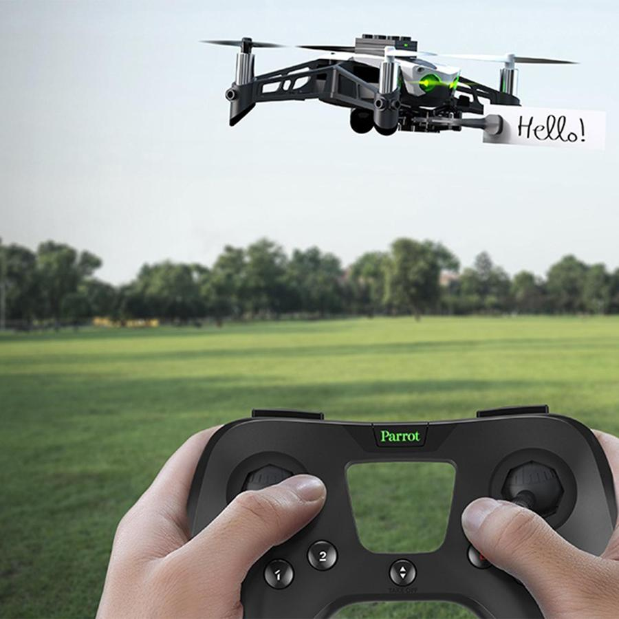 "<p>Let him catch some air-no FAA registration required-with a smartphone-controlled Parrot Minidrone.</p><p>$120 | <a rel=""nofollow"" href=""https://www.zola.com/shop/product/parrot_minidrone_mambo_5?skuId=5824d6bce4b077501f4f3fa4&collectionItemId=58b58e4062906c02be23de76&utm_source=InStyle&utm_campaign=Gifts_Grooms_Love&utm_medium=Referral"">SHOP IT</a></p>"