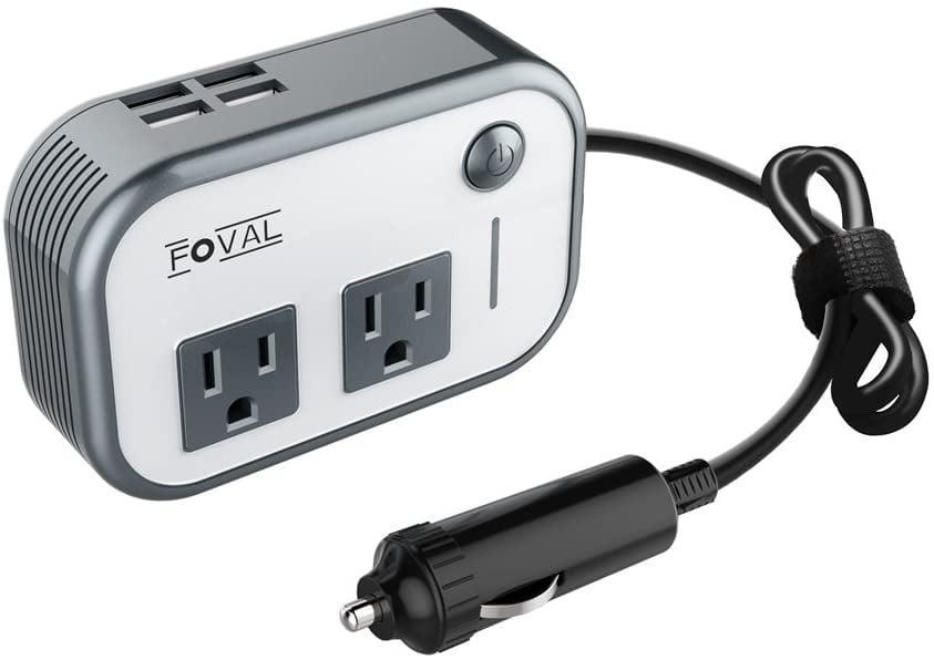 <p>You'll use this <span>Foval Car Power Inverter</span> ($26) on a daily basis. You'll be able to keep all your gadgets charged, from laptops to phones.</p>