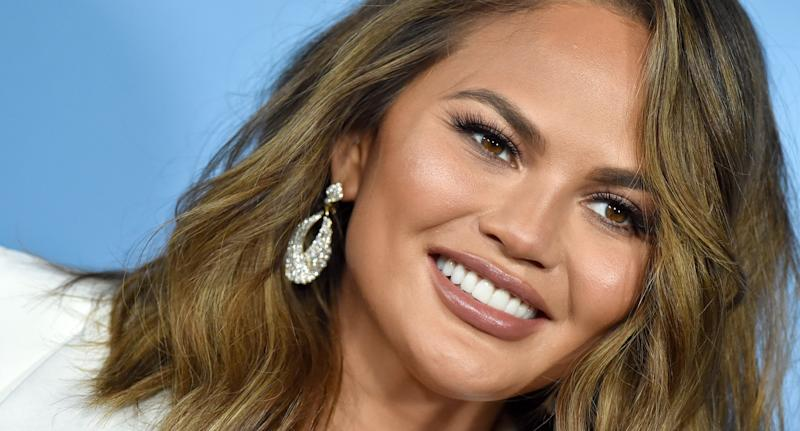 Chrissy Teigen reveals how one mom-shaming comment actually proved useful. (Photo by Axelle/Bauer-Griffin/FilmMagic)