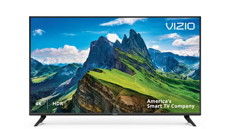 "VIZIO 50"" Class 4K Ultra HD (2160P) HDR Smart LED TV. (Photo: Walmart)"